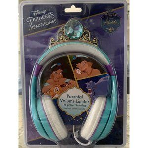 NEW Disney Princess Headphones  Alladin Safe Sound